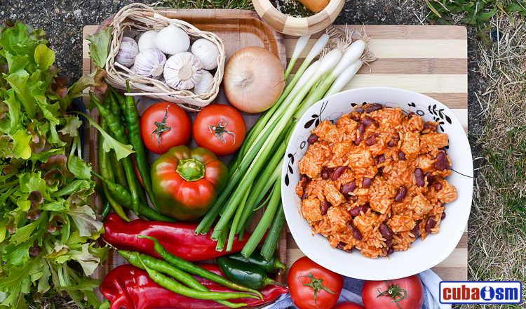 cuba recipes .org - Cuban Red Beans and Rice (Congri) recipe
