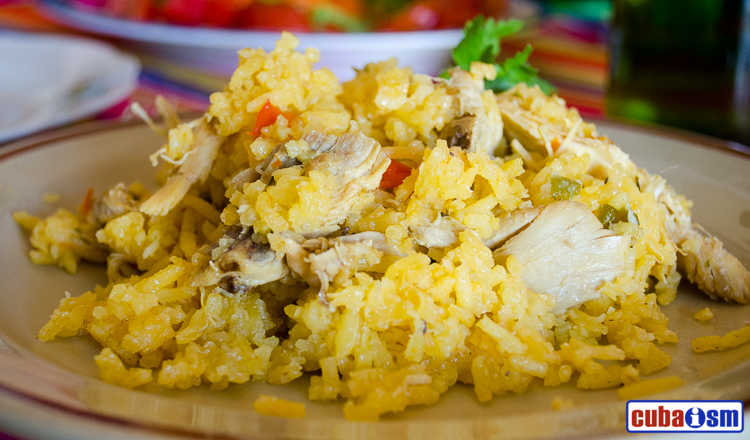 cuba recipes .org - Cuban Arroz con pollo (Rice with Chicken)