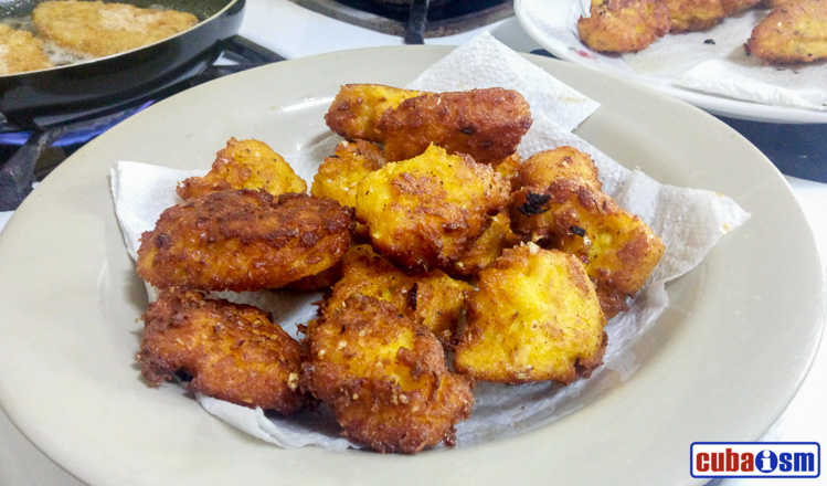 cuba recipes .org - Fresh Corn Fritters Recipe