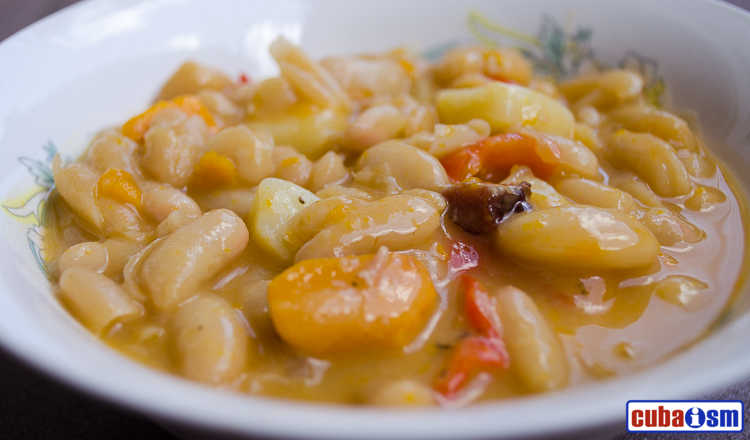 cuba recipes .org -White Bean Stew