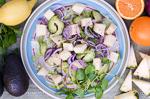 cuba recipes .org - Avocado and Pineapple Salad