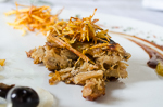 cuba recipes .org - Charcoal-baked pork in mojo criollo with dried fruits